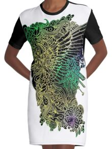www.artherapie.ca Graphic T-Shirt Dress