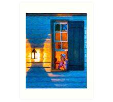 Williamsburg By Lantern Light Art Print