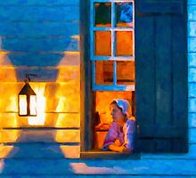 Williamsburg By Lantern Light by Mark Tisdale