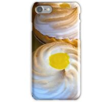 Lemon Cream Pie Cupcakes iPhone Case/Skin