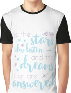 The Stars Who Listen Graphic T-Shirt