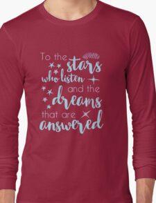 The Stars Who Listen Long Sleeve T-Shirt