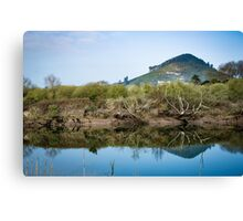 Idyllic landscape in Cantabria Canvas Print