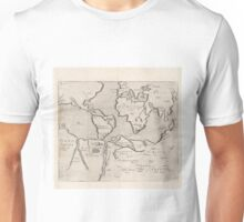 Vintage Map of The World (1607) Unisex T-Shirt