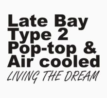 Late Bay Pop Type 2 Pop Top Black by splashgti