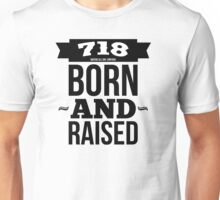 queens, NYC // born and raised Unisex T-Shirt