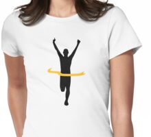 Running winner Womens Fitted T-Shirt
