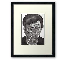 Bill Hicks  Framed Print