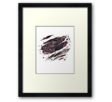 Conor Mcgregor Tattoo Framed Print