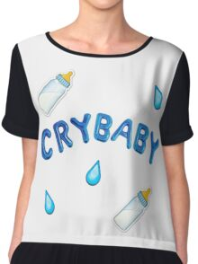 crybaby design Chiffon Top