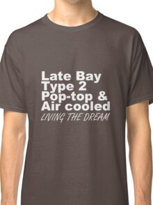 Late Bay Pop Type 2 Pop Top White LTD Classic T-Shirt