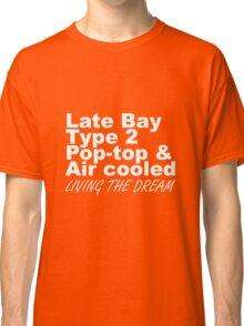 Late Bay Pop Type 2 Pop Top White LTD Classic T-Shirt