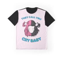Cry Baby Tears Graphic T-Shirt