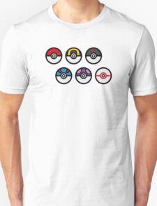 Poke Balls Unisex T-Shirt