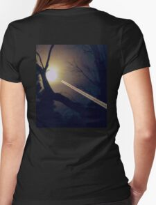 *da Moon's Sa Portal** Womens Fitted T-Shirt
