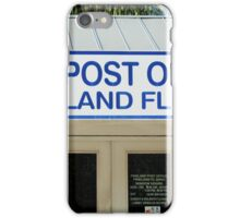 Pineland Post Office I iPhone Case/Skin