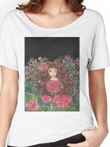 Girl in the Garden Women's Relaxed Fit T-Shirt