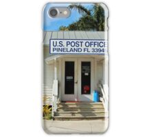 Pineland Post Office II iPhone Case/Skin