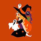 Witch Holding a Pumpkin by SaradaBoru