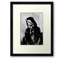 Empty Death Framed Print
