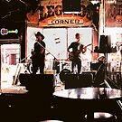 Country Music Rockin' Out at Legends Corner, Nashville, Tennessee by © Bob Hall