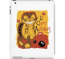 Le Chat Autobus - Catbus iPad Case/Skin