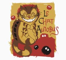 Le Chat Autobus - Catbus by jimiyo