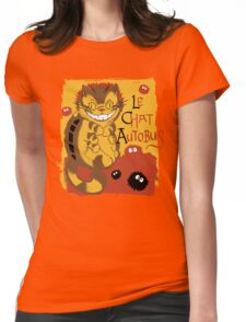 Le Chat Autobus - Catbus Womens Fitted T-Shirt