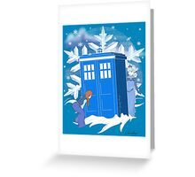 Lost in Arendelle Greeting Card