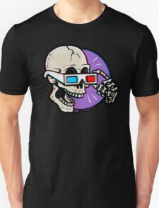 3D Glasses are Skull Cracking Fun! Unisex T-Shirt
