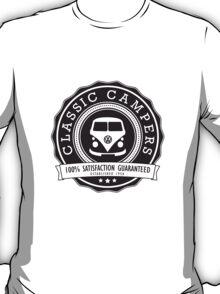 Retro Badge Black VW Classic T-Shirt