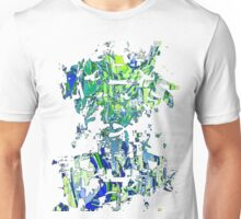 Abstract glitch design Unisex T-Shirt