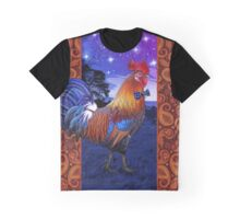 Rooster with a bowtie Graphic T-Shirt