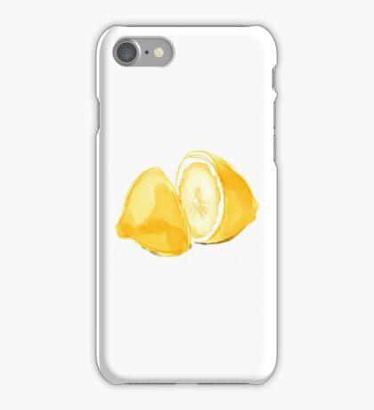 Sliced Lemon iPhone Case/Skin