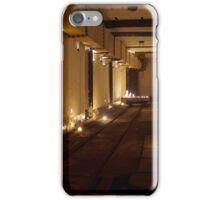 WW2 bunker in candlelight iPhone Case/Skin