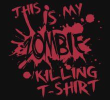 This is my zombie killing t-shirt by nektarinchen