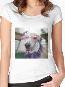 Canine Diva Women's Fitted Scoop T-Shirt