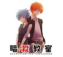 assassination classroom back to back  Photographic Print