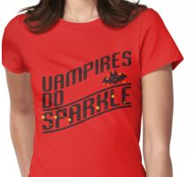 Vampires do sparkle Womens Fitted T-Shirt