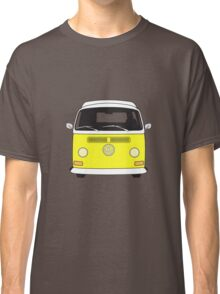 Early Bay VW Camper Front Yellow Classic T-Shirt