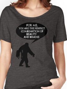 Combination of beauty and brains Women's Relaxed Fit T-Shirt