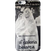 Daniel Gomez - Galeria Belarca iPhone Case/Skin