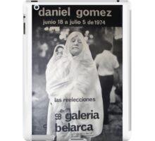 Daniel Gomez - Galeria Belarca iPad Case/Skin