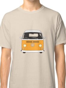 Early Bay VW Camper Front Orange Classic T-Shirt