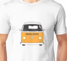 Early Bay VW Camper Front Orange Unisex T-Shirt