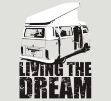 VW Camper Open Roof Living The Dream by splashgti