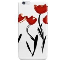 Poppies iPhone Case/Skin