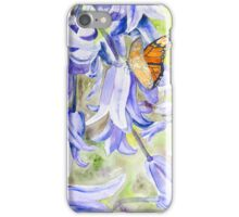 Bluebells & Butterfly iPhone Case/Skin