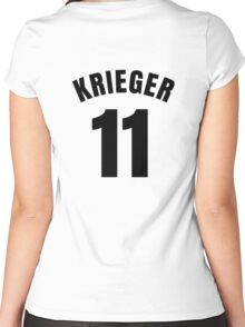 Ali Krieger - 11 Women's Fitted Scoop T-Shirt