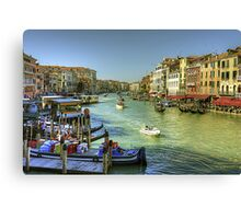 Life in Venice Canvas Print